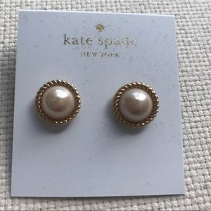 Kate Spade Seaport Pearl Stud Earrings